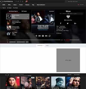 وبسایت موزیک تاپ پرشیا